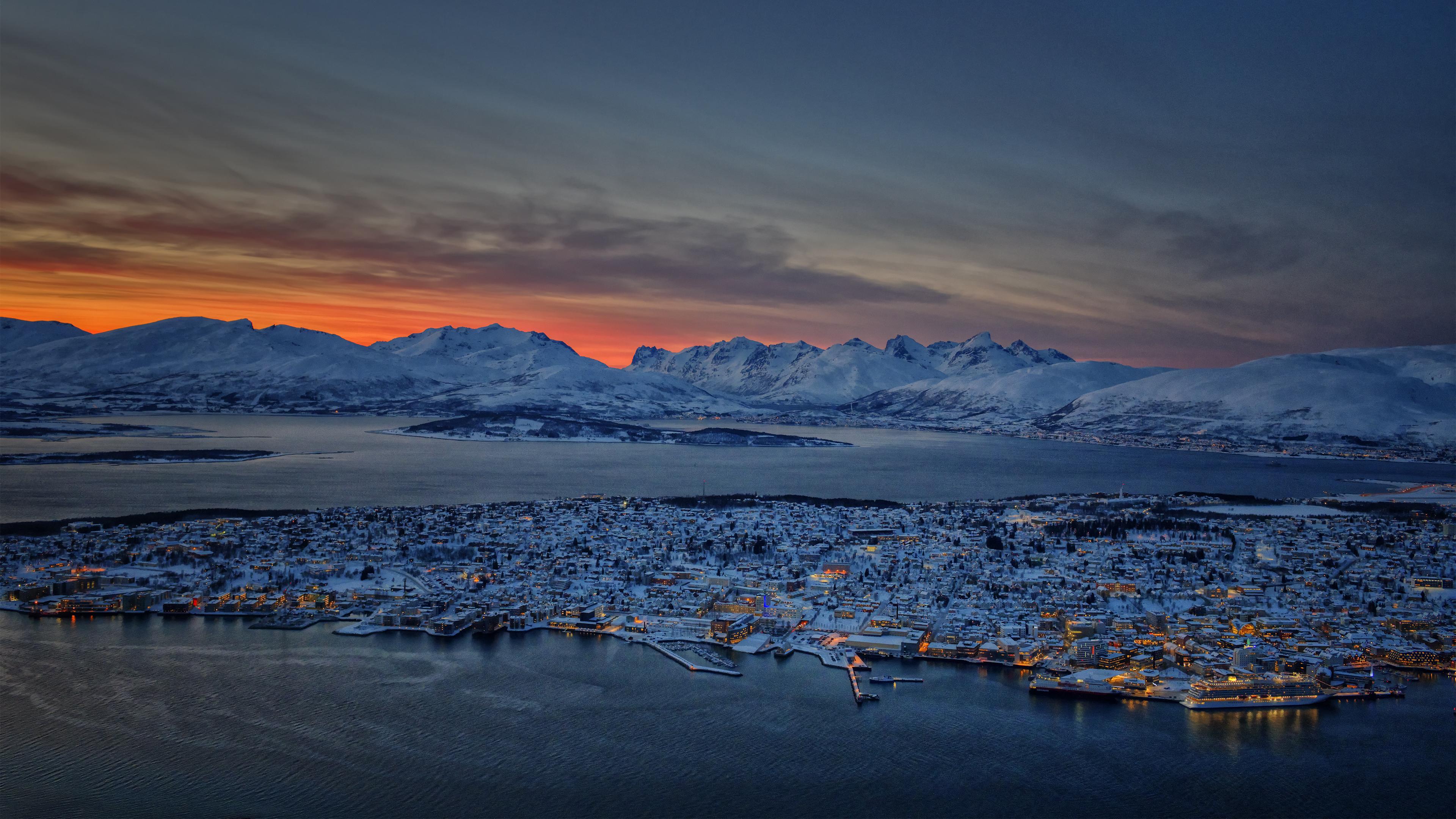 Sunset on Tromso