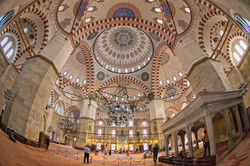 Inside Istanbul Mosque