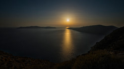 Sunset from Santorini