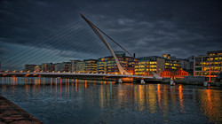Calatrava's Samuel Beckett Bridge
