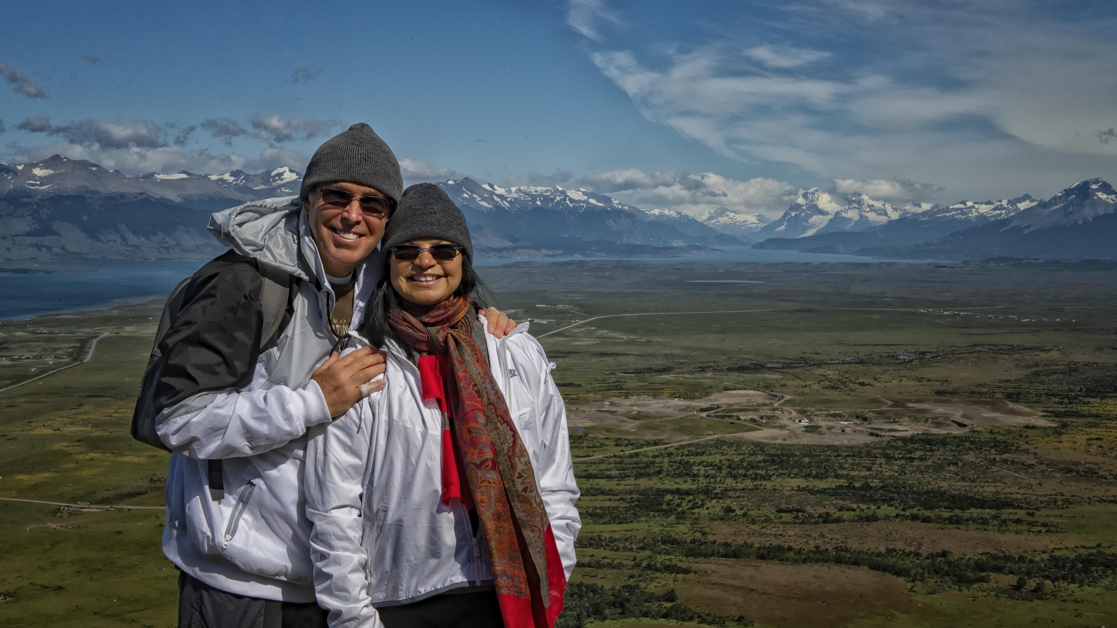 Enjoying the View at Cerro Dorotea