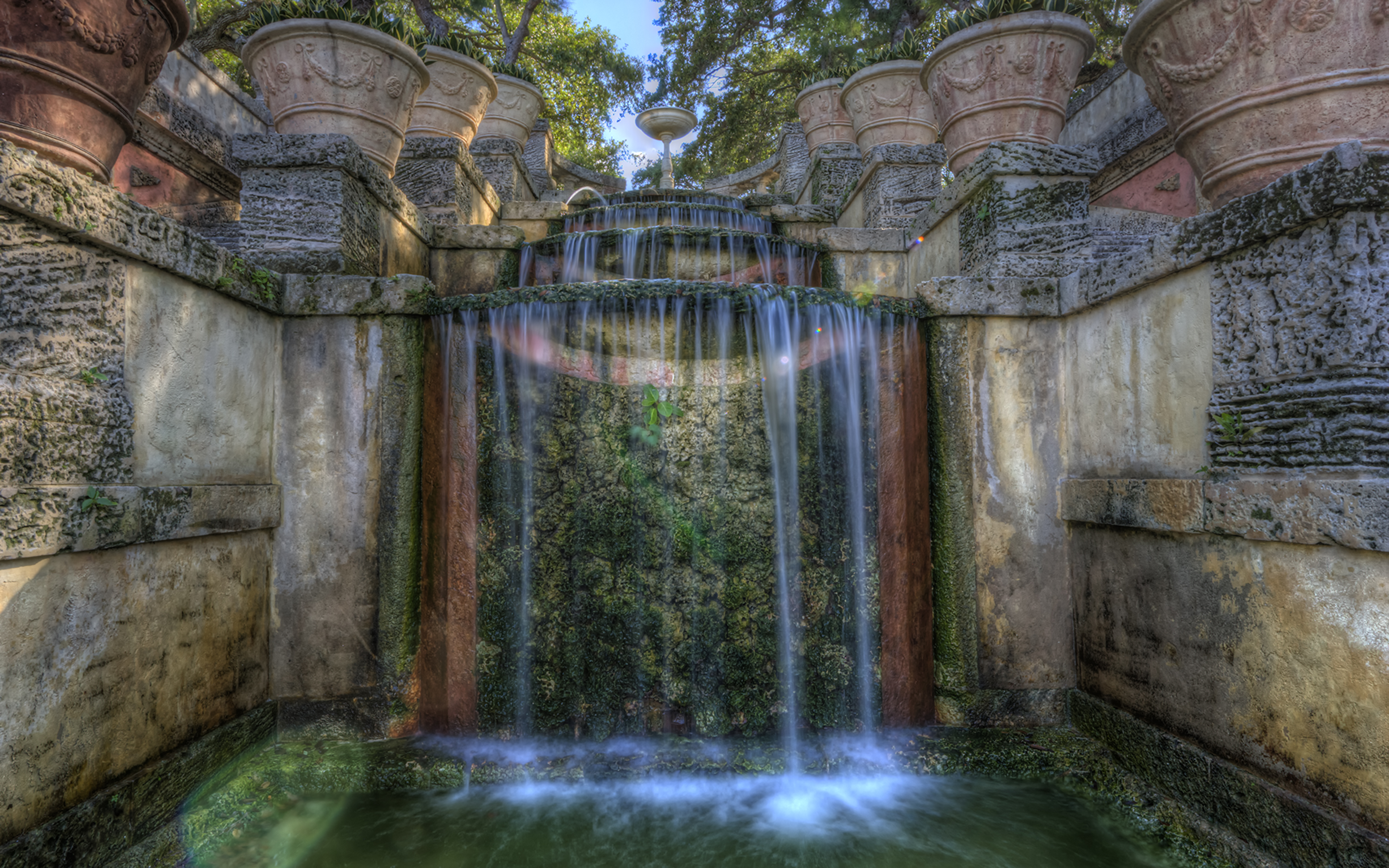 Vizcaya Waterfall