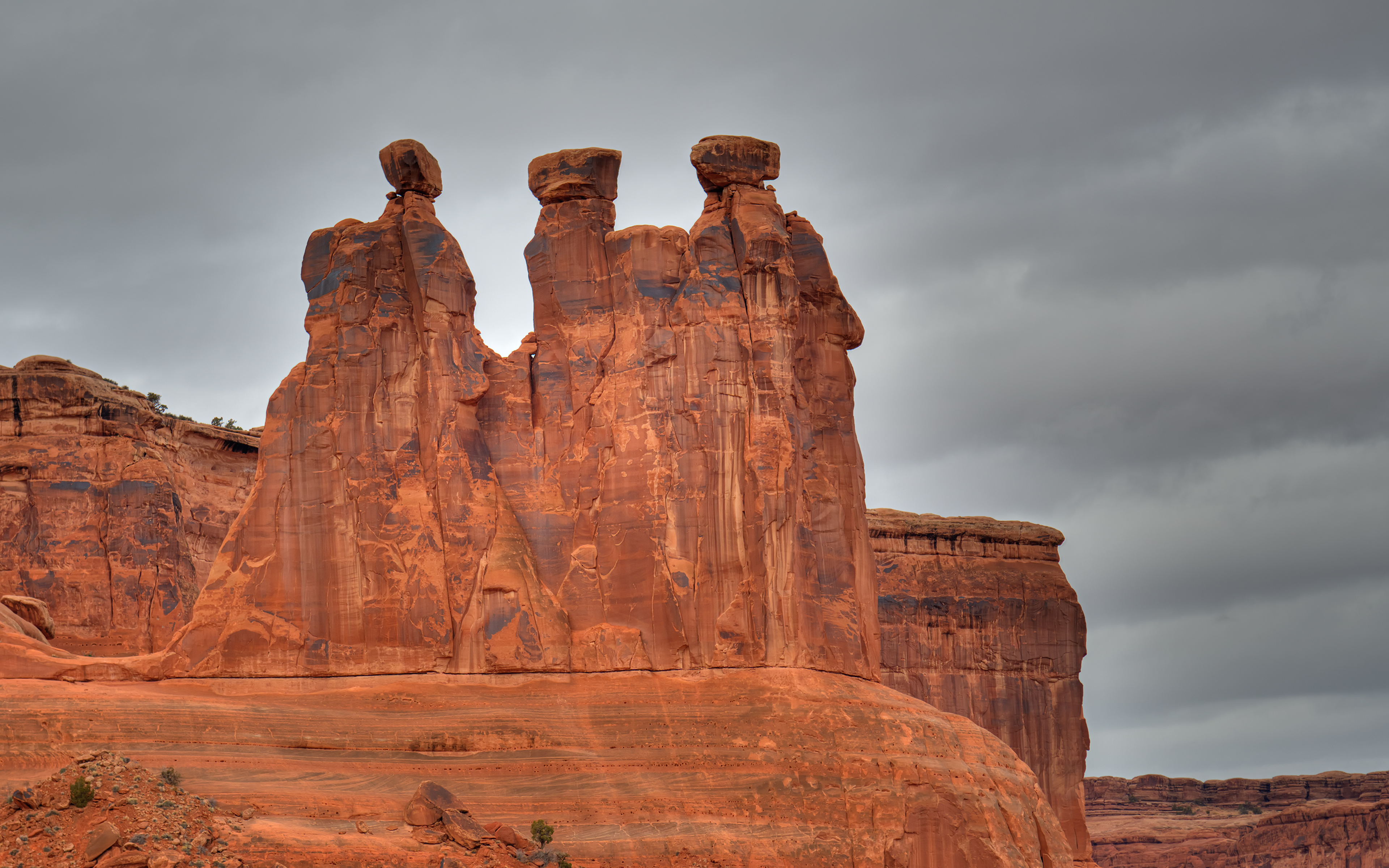Three Gossips in Canyonlands NP