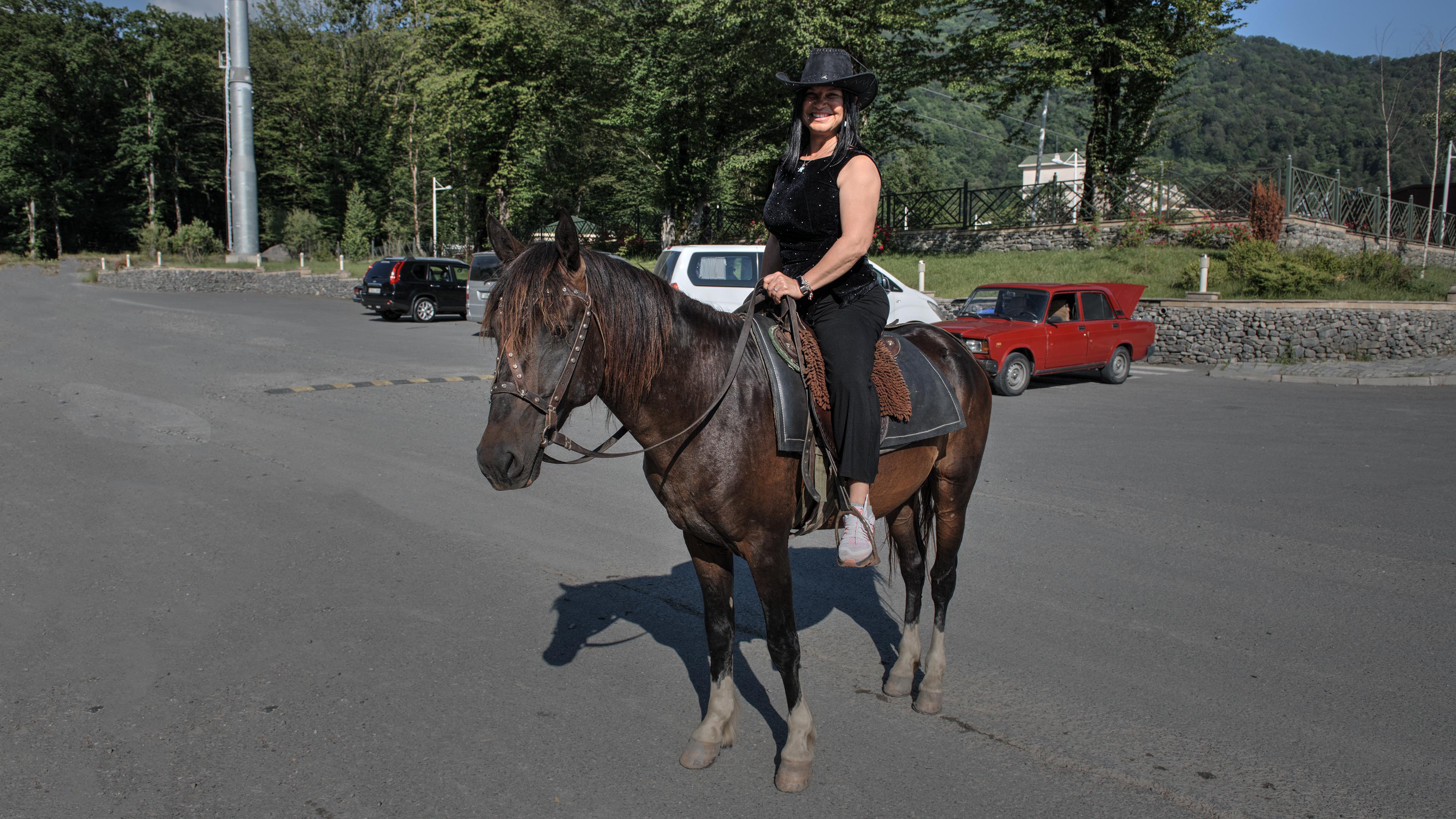 Horse Riding in Qabala