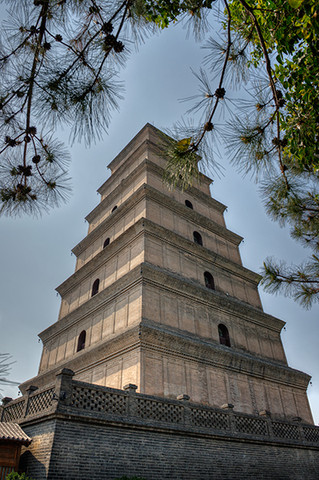 Giant Wild Goose Pagoda, China