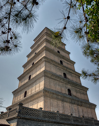 Giant Wild Goose Pagoda, China