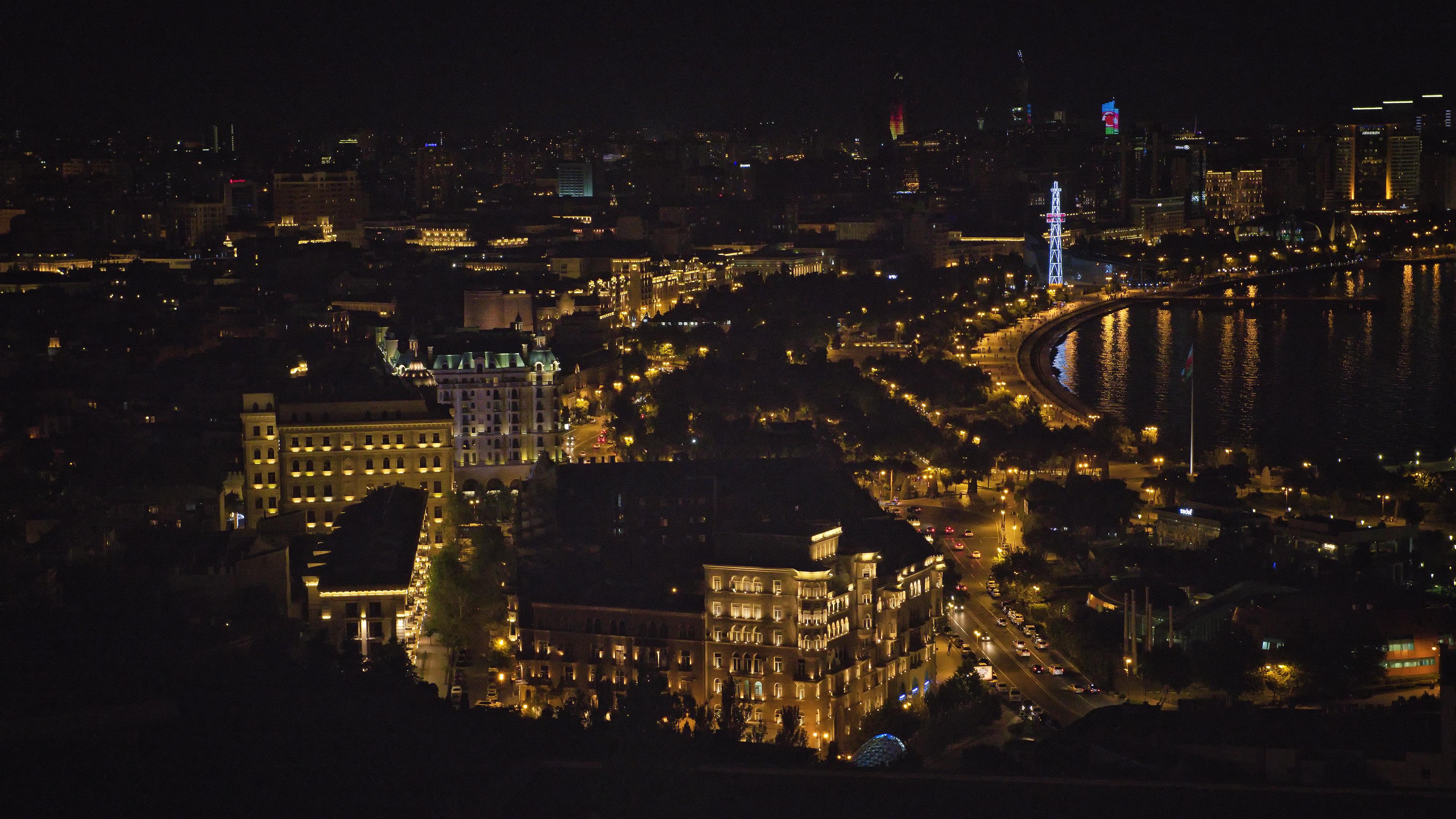 Azerbaijan Baku Night