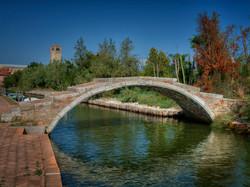 Devil's Bridge in Torcello, Italy