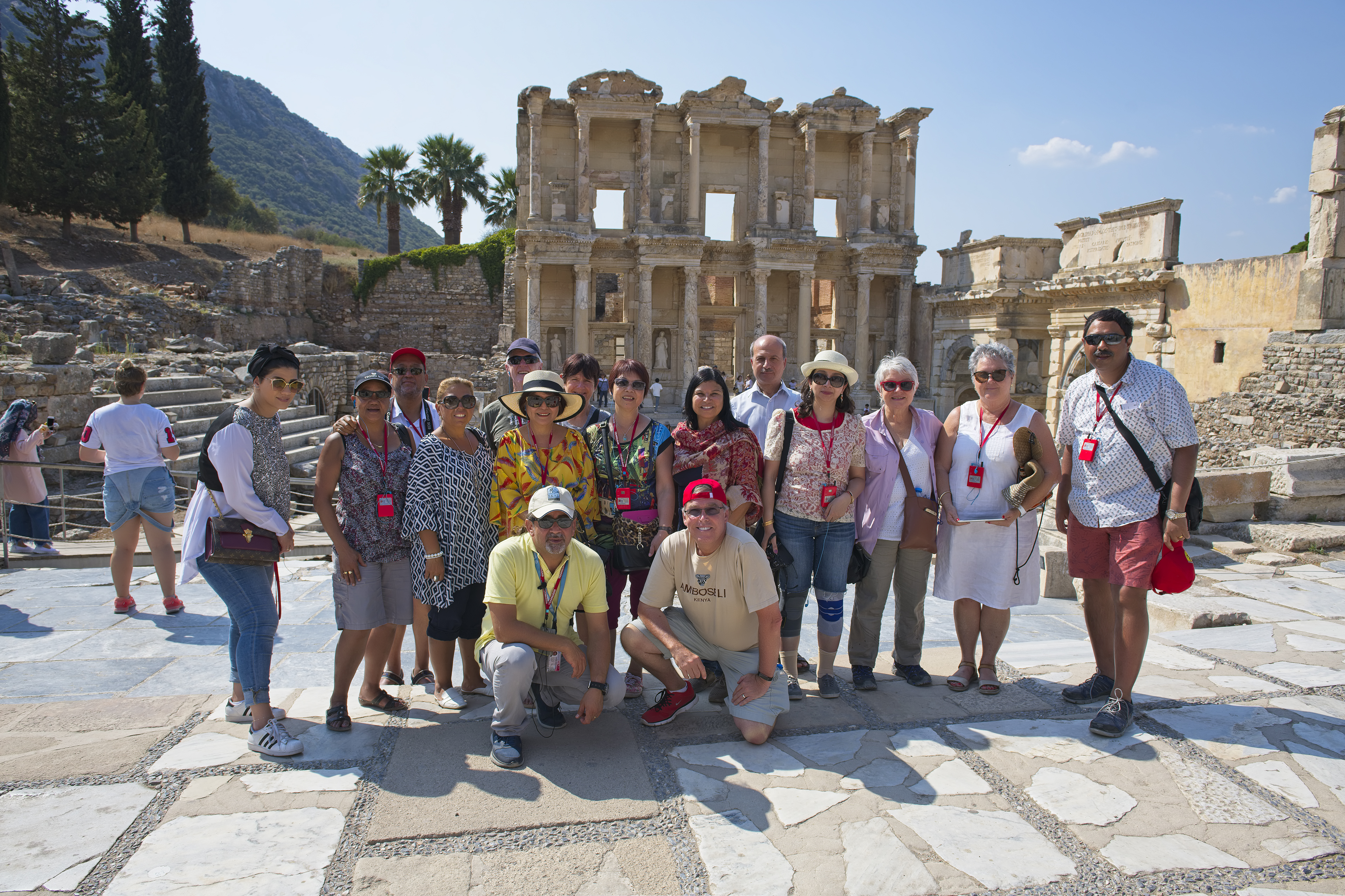 Group at Celsus Library