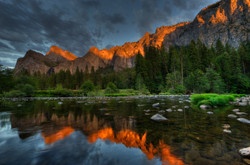 Sunset in Yosemite