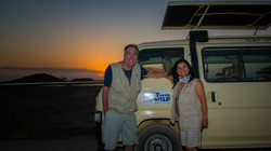 Our Truck in Amboseli