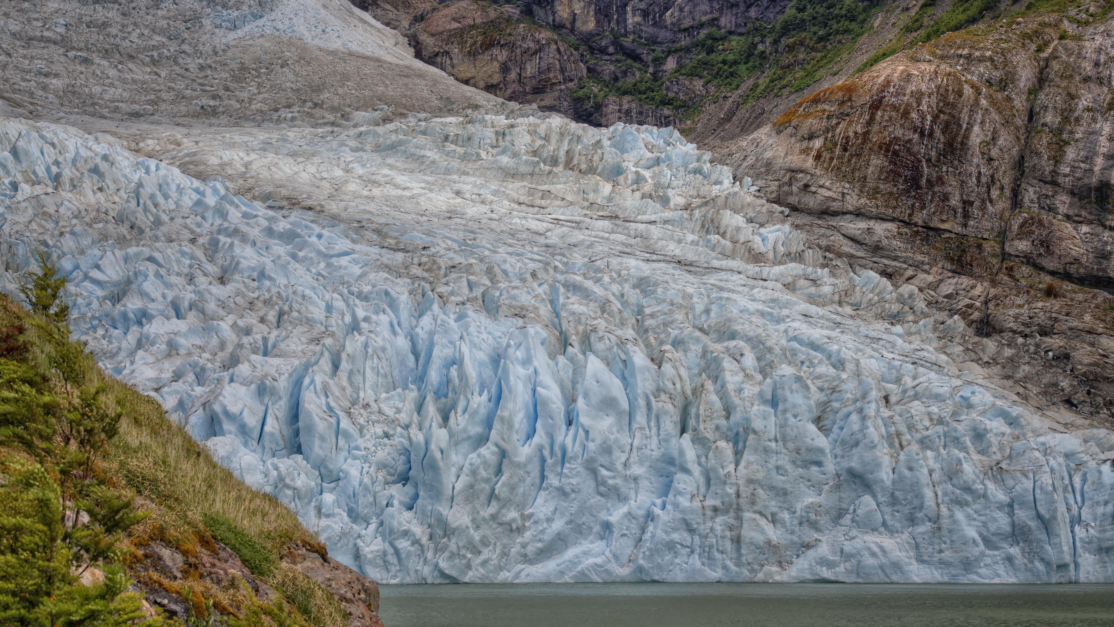 Serrano Glacier in Chile
