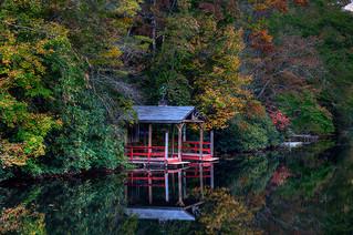 Boat House, Highlands, N.C. USA