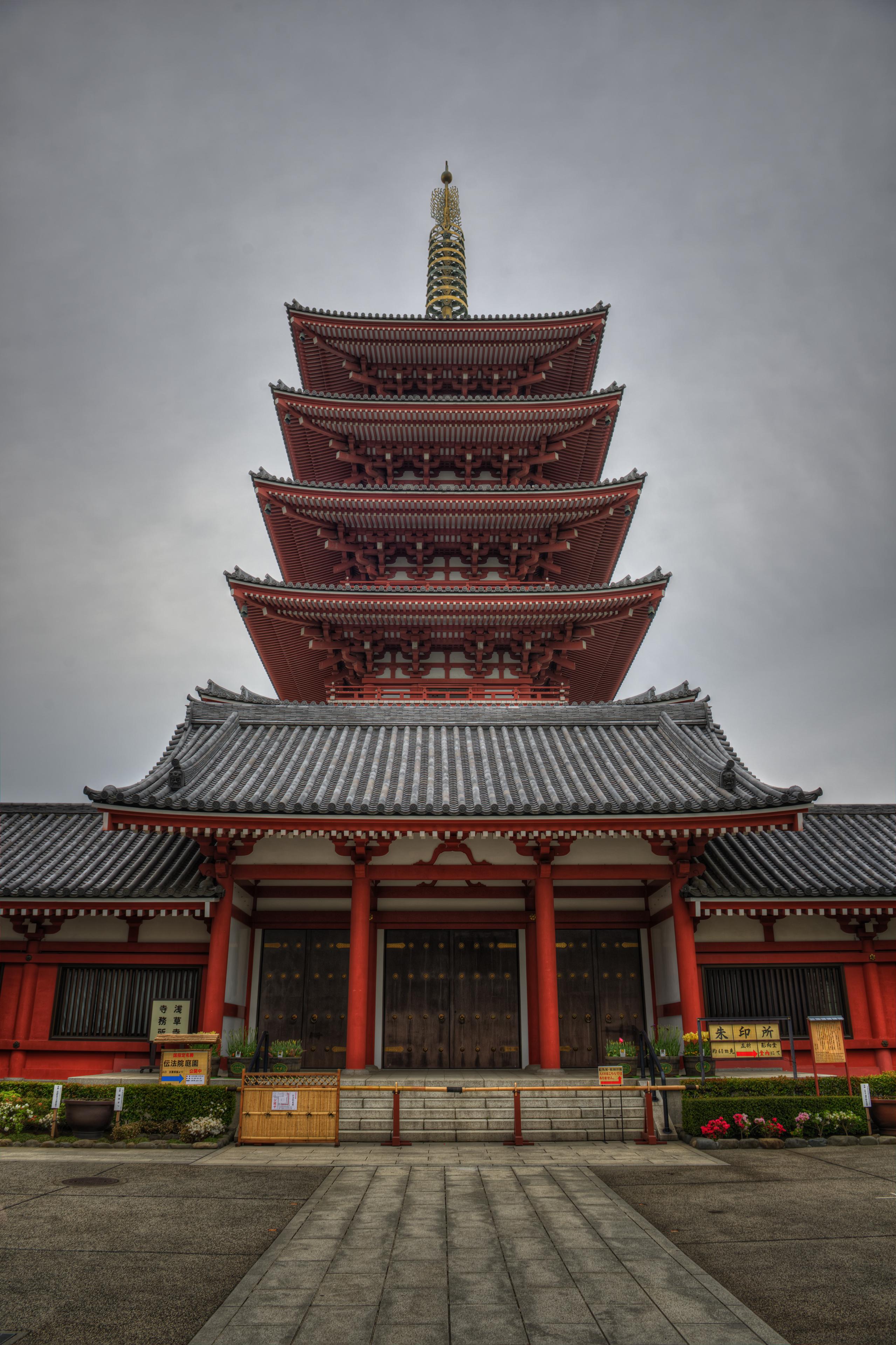 Sensō-ji, Buddhist temple