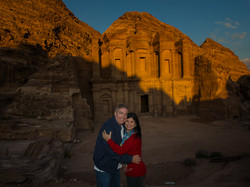 Sunset on the Monastery