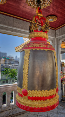 Bell at Temple of the Emerald Buddha