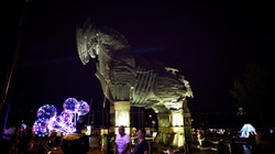 Wooden Horse given to Troy