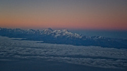 Flying down the Himalayas