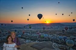 Sunrise on Cappadocia