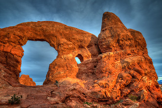 Photographing the Arch, Utah