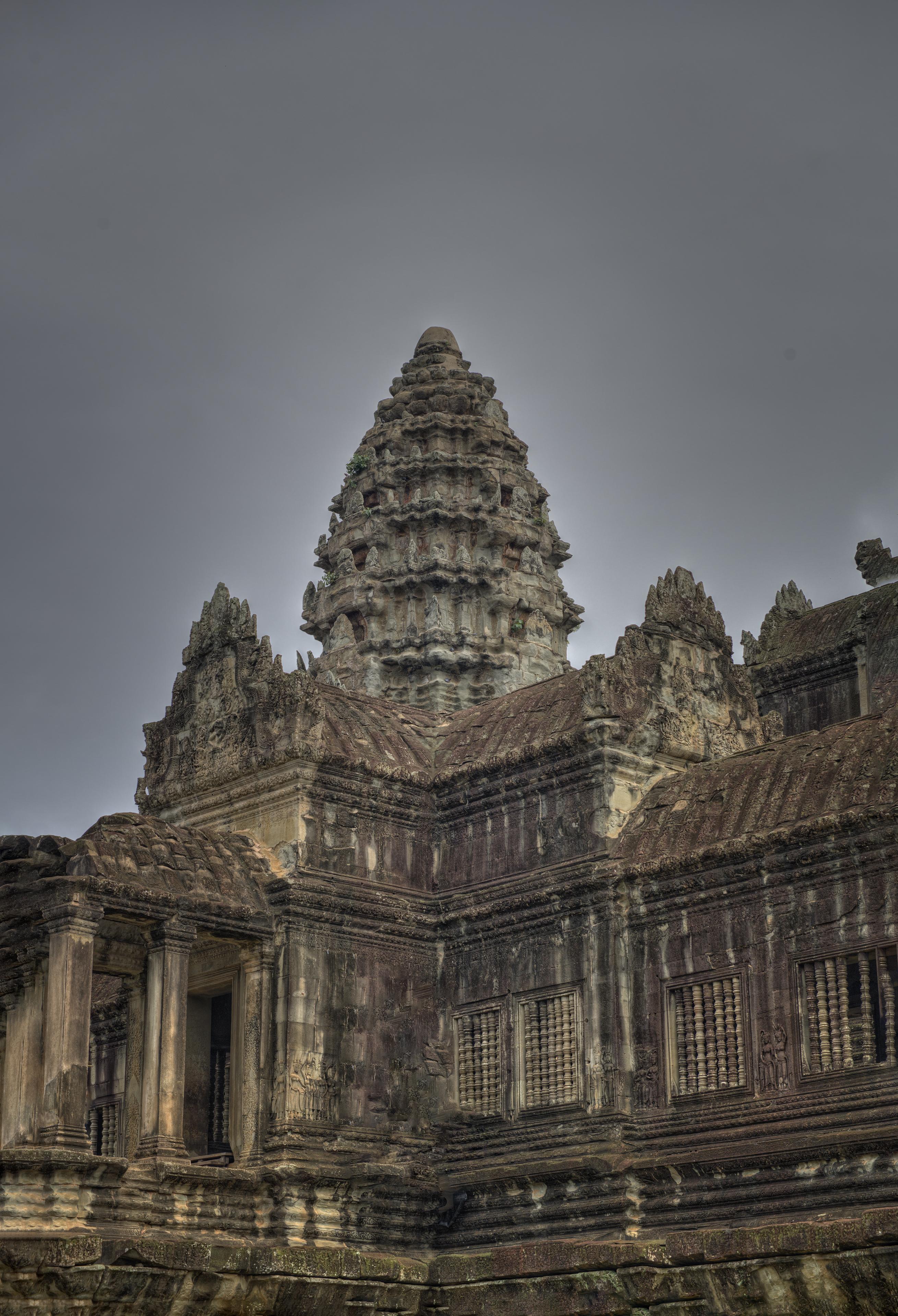 Ancient Angkor Wat Temple