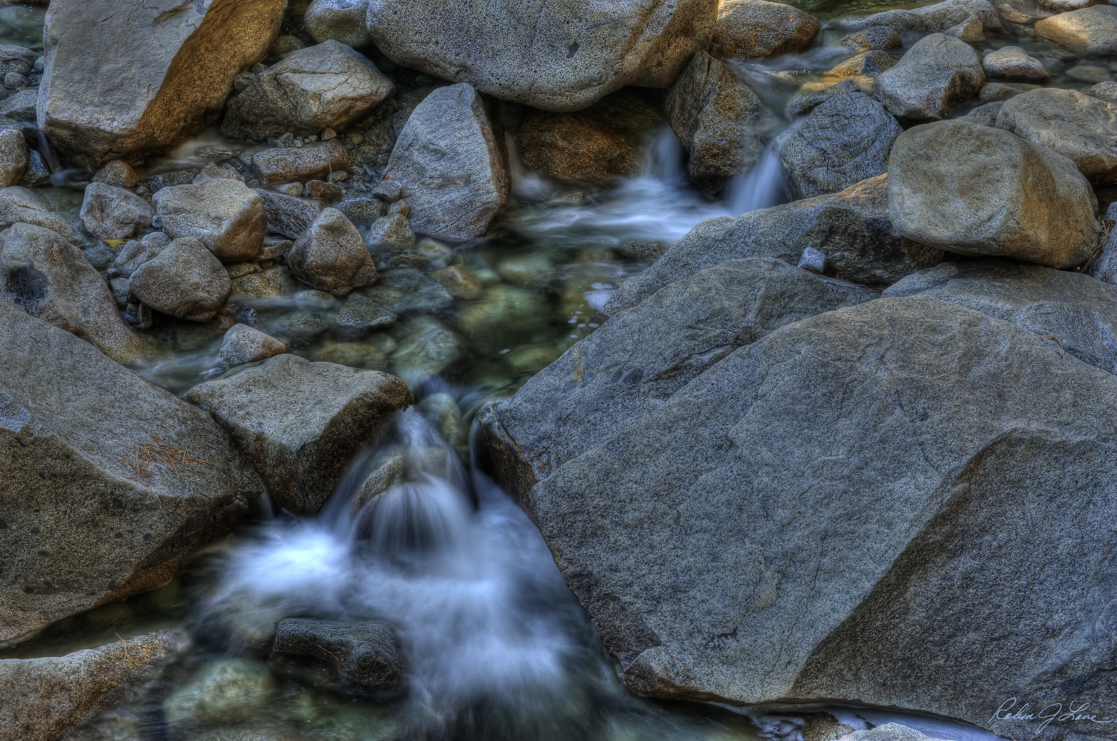 Low Flow in Yosemite
