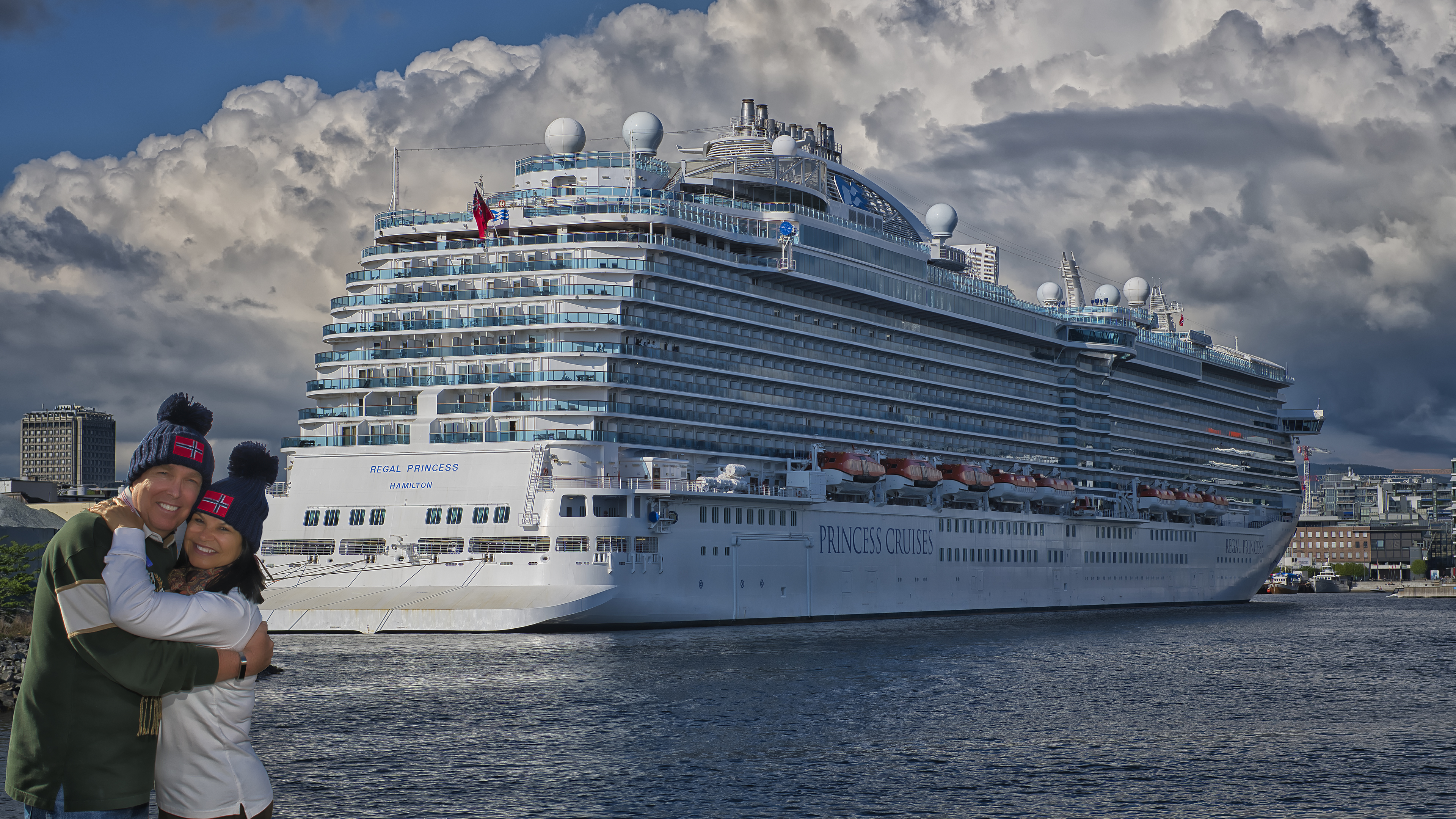 In Oslo with the Regal Princess