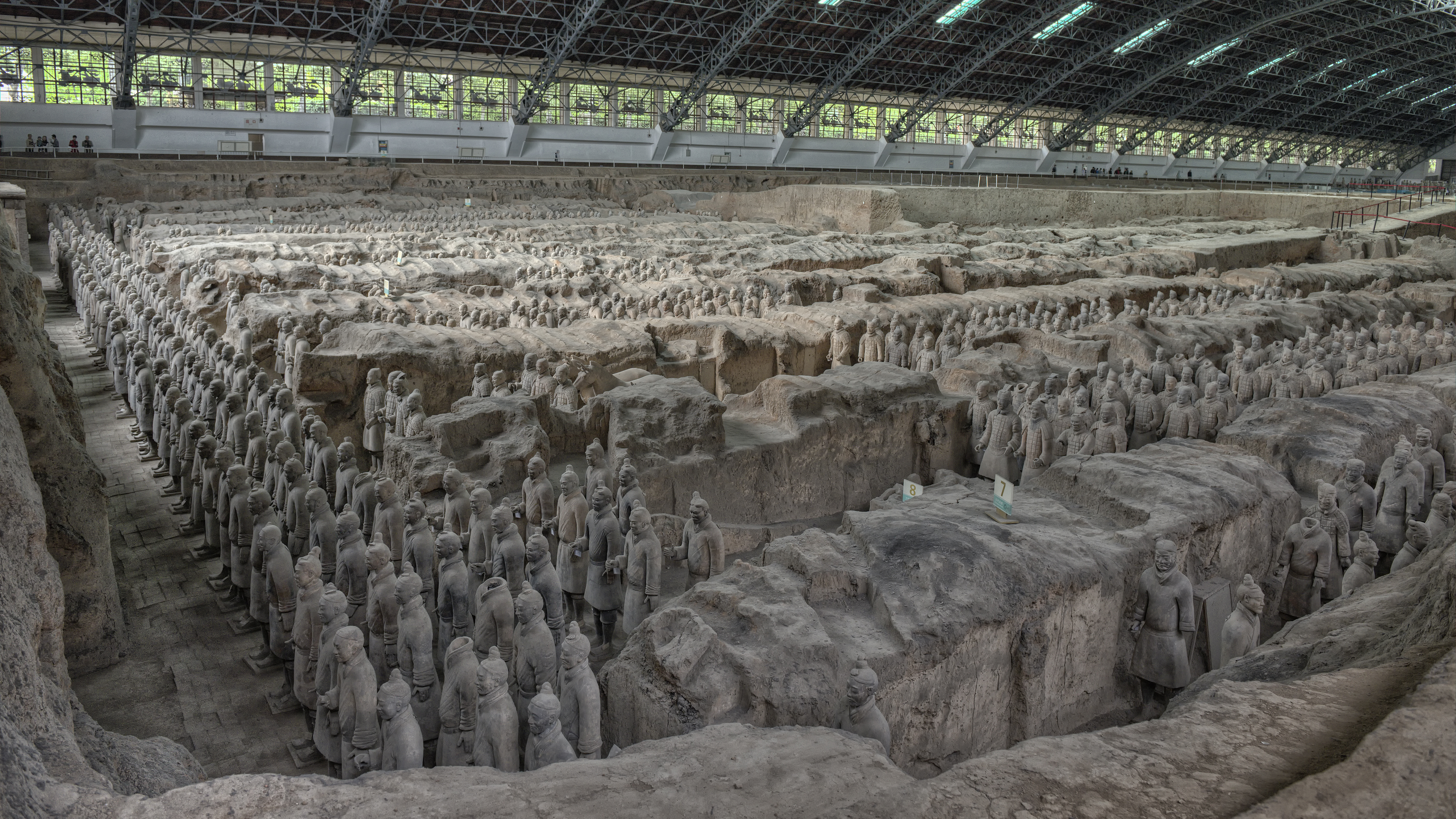 Terra Cotta Warriors in Xian, China