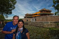 Purple Forbidden City in Huế