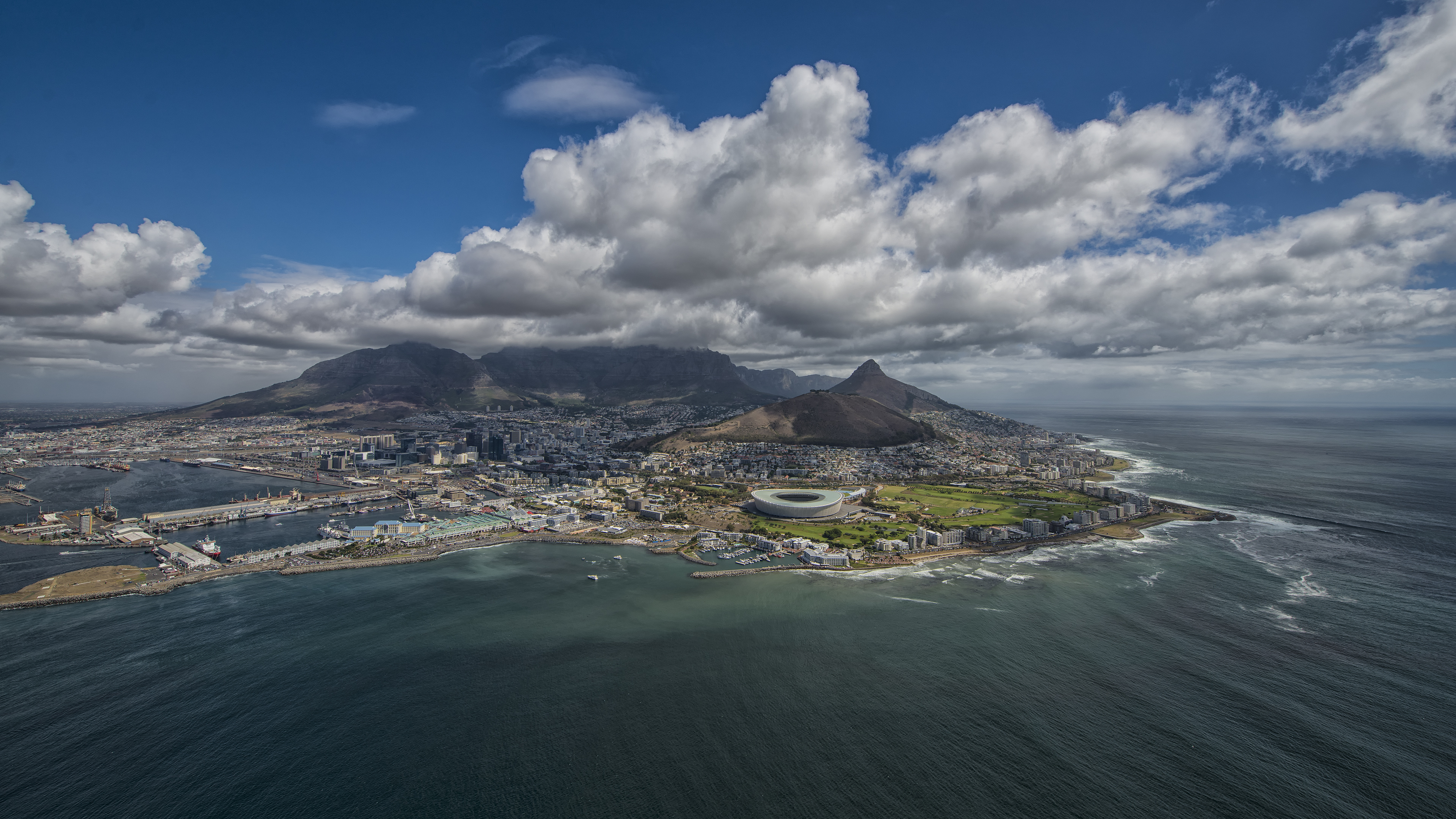 Helicopter Flight in Cape Town