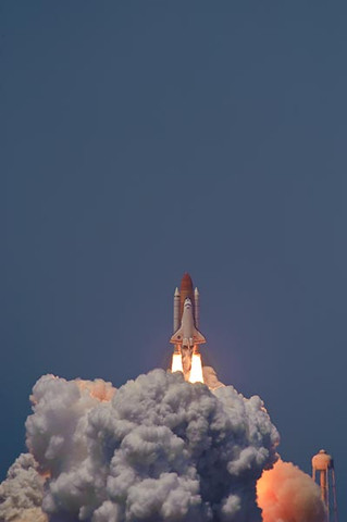 Space Shuttle Atlantis Blastoff