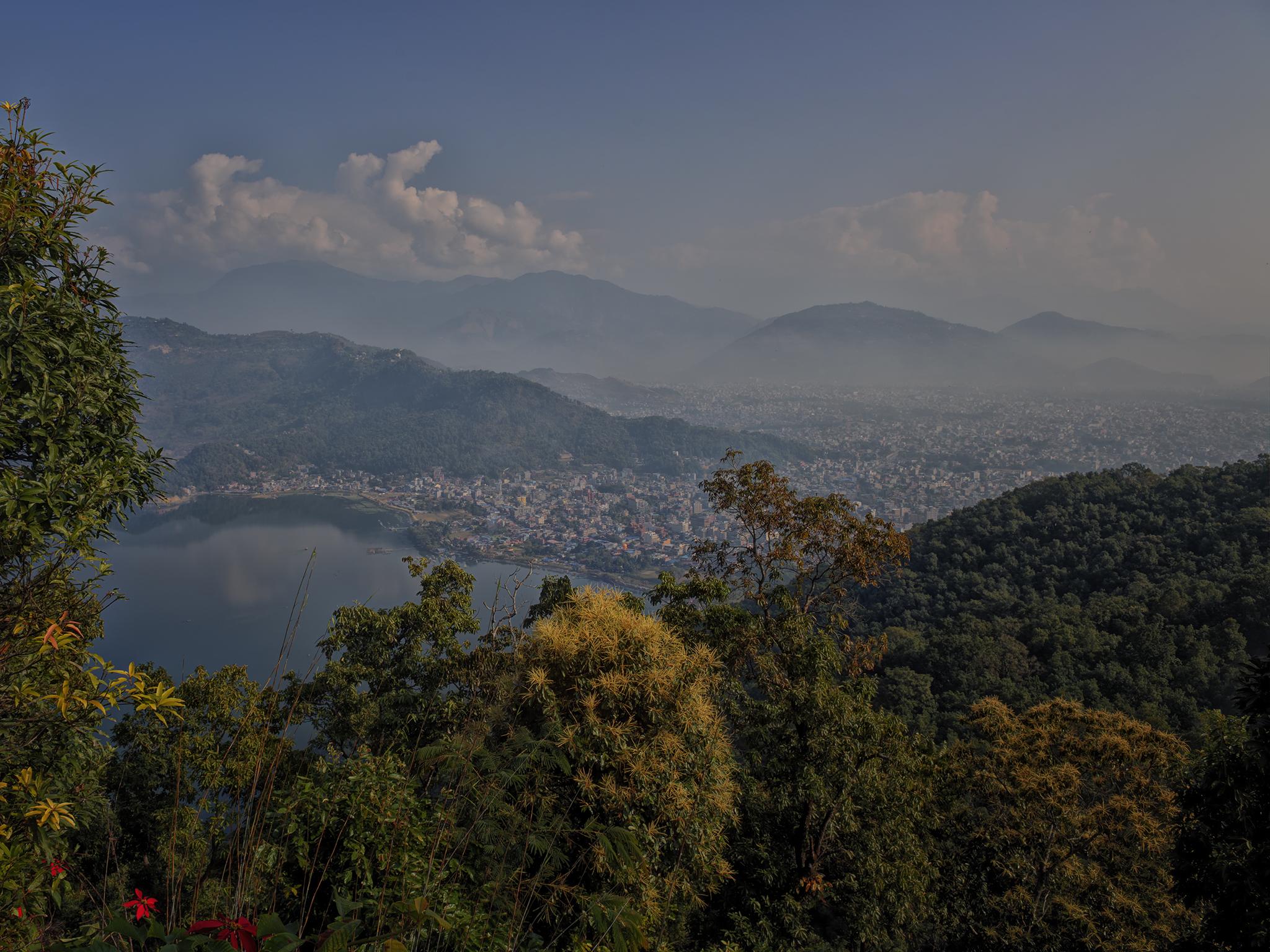 World Peace Stupa View