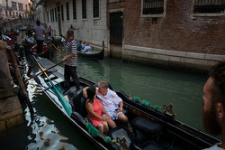 Our First Gondola Boat Ride