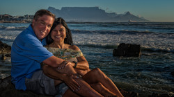 Posing with Table Mountain
