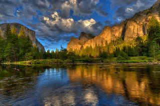 Yosemite Sunset, California, USA