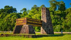Entrance to Foz do Iguaçu
