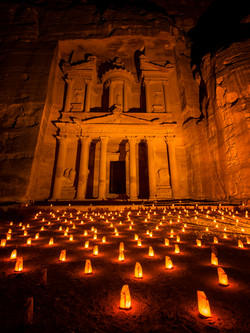 The Treasury by Candlelight