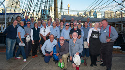 The awesome crew of the James Craig