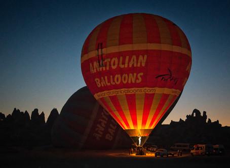 Balloon Flight over Cappadocia