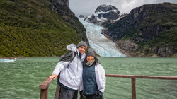 Enjoying Serrano Glacier