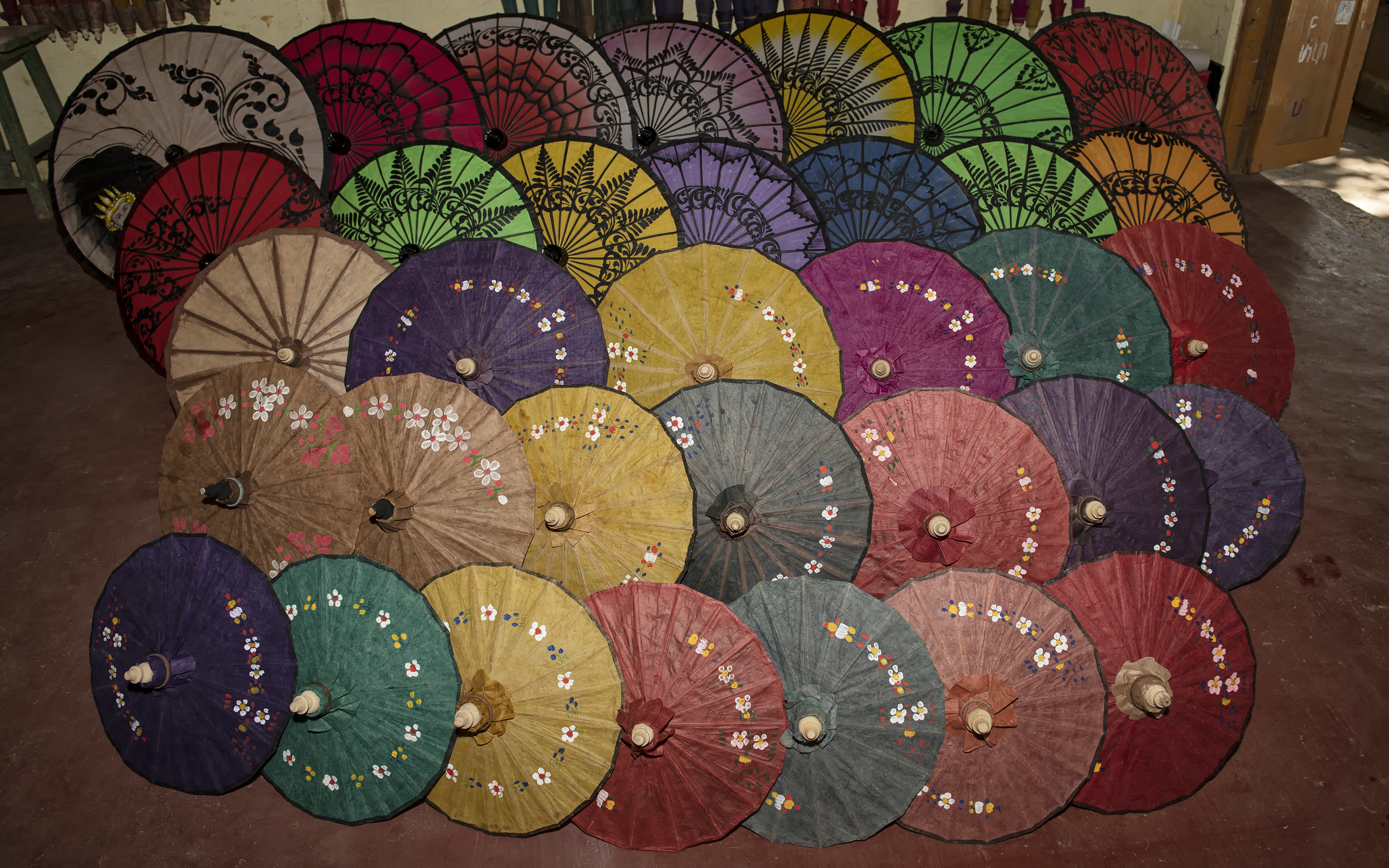 Pathein Umbrellas
