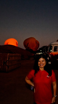 Filling the Balloons Over Bagan
