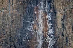 Yosemite Falls Closeup