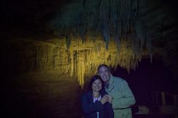 Inside Footwhistle Glowworm Cave