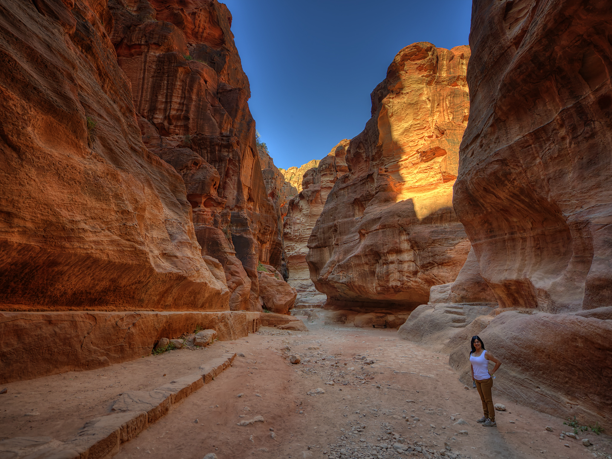 Morning Light in Petra