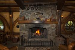 Fireplace in the Green Dragon Inn