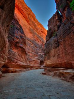 1km walk through Petra
