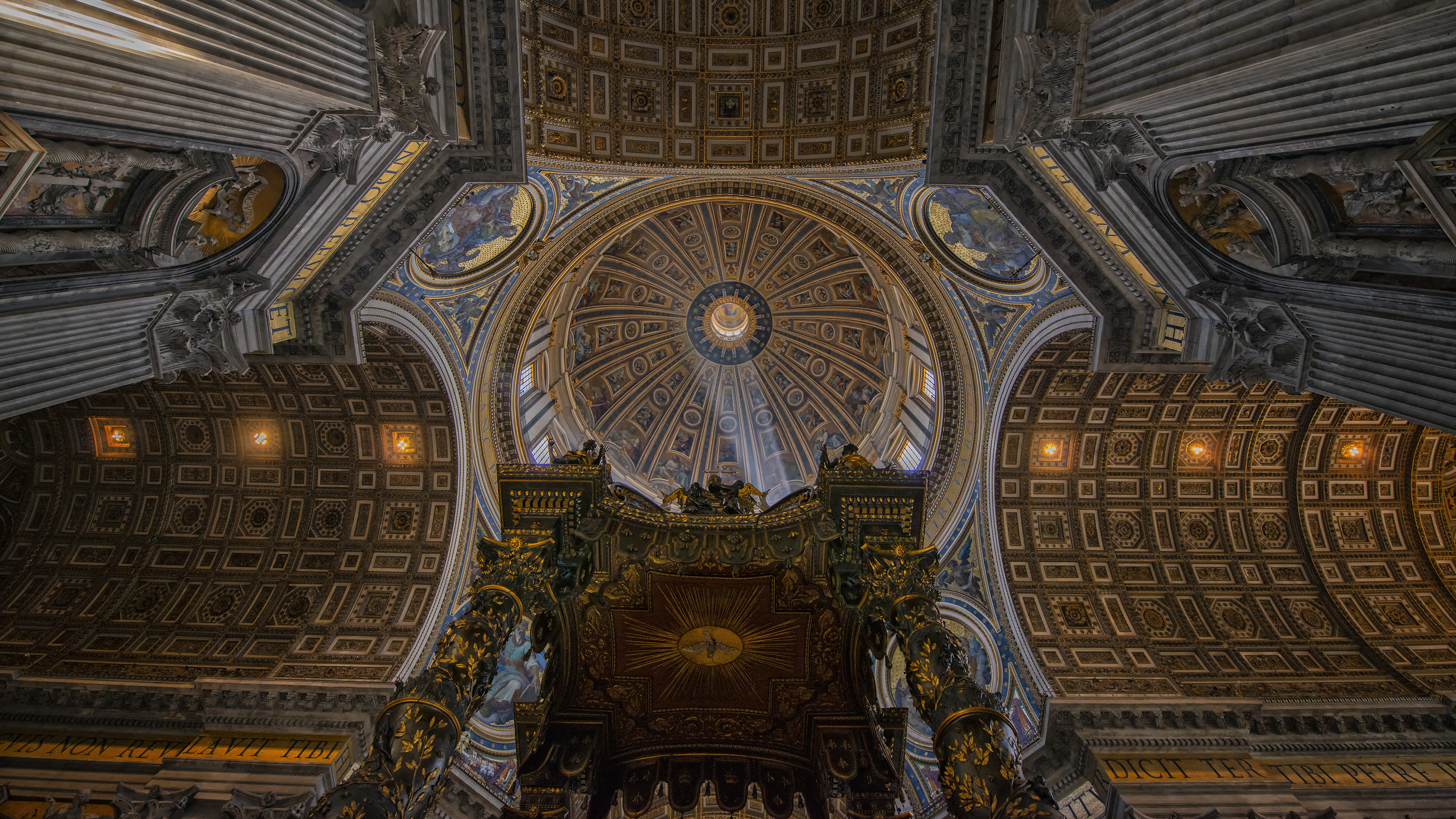 Rays Through the Dome