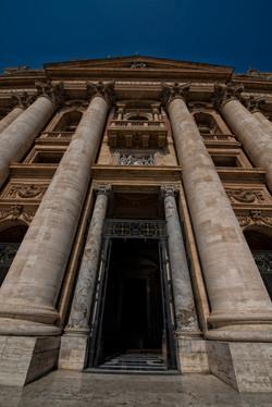 Entrance to Saint Peter's Basilica