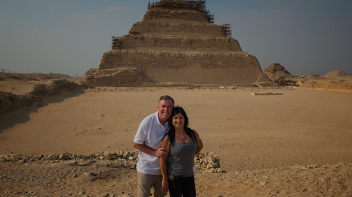 Step Pyramid of Djoser at Saqqara, Egypt